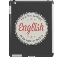 The Official Language iPad Case/Skin