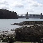 Britannia Bridge by Becccaa