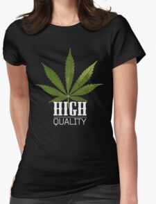 Marijuana High Quality Womens Fitted T-Shirt
