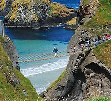 Rope bridge  by julie08