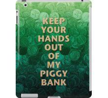Private Property Piggy Bank iPad Case/Skin