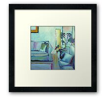 Comfortable at Home Framed Print