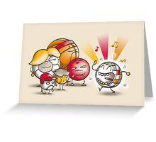 Odd Ball Greeting Card