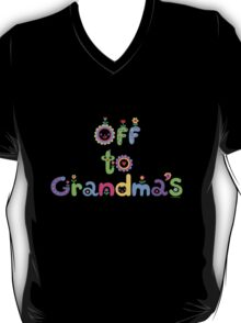Off To Grandma's 2 - dark T-Shirt