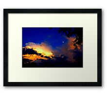 The Most Beautiful Floridian Storm  Framed Print