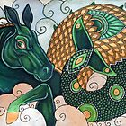 Hippocamp II by Lynnette Shelley
