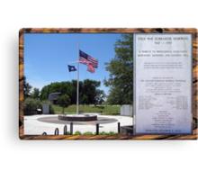 Cold War Submarine Memorial, Patriots Point [Charleston], SC Canvas Print
