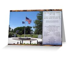 Cold War Submarine Memorial, Patriots Point [Charleston], SC Greeting Card