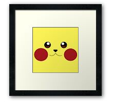 Pikachu's Close-up Framed Print