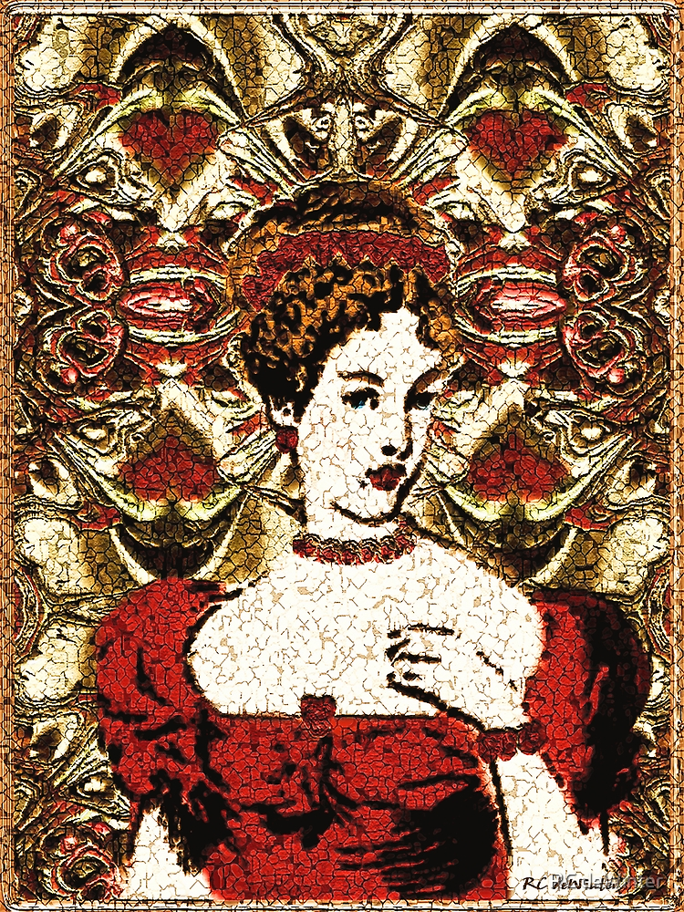 Red Queen Baroque by RC deWinter