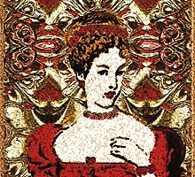 Red Queen Baroque by RC deWinter