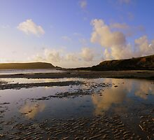 Cornwall: Daymer Bay Reflections by Rob Parsons