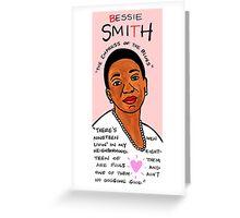 Bessie Smith Blues Folk Art Greeting Card