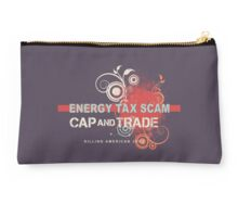 Energy Tax Scam Studio Pouch
