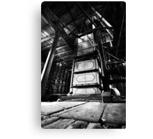 The wool shed. Canvas Print