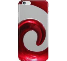 Red Swirl iPhone Case/Skin