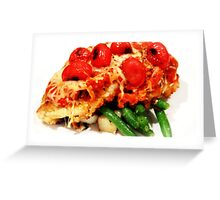 Gourmet Dish Greeting Card
