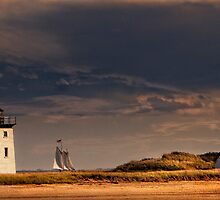Wood End Lighthouse, Provincetown by bettywiley