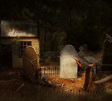 Walhalla cemetery by Peter Hammer