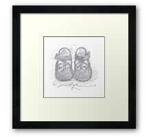 Mary Janes Framed Print