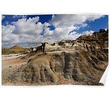 Landscape at Teddy Roosevelt National Park Poster