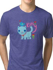 Cat Love Tri-blend T-Shirt