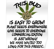 Marijuana Give It Away Poster