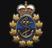 Canadian Forces Naval Operations Logo Kids Clothes