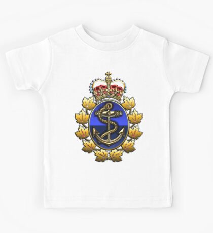 Canadian Forces Naval Operations Logo Kids Tee