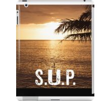 SUP - Stand Up Paddle Boarding  iPad Case/Skin