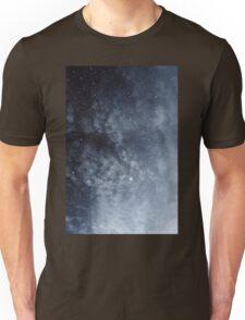 Blue veiled moon Unisex T-Shirt