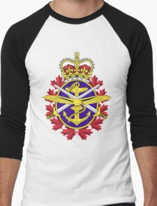 Canadian Forces (CF) Logo Men's Baseball ¾ T-Shirt