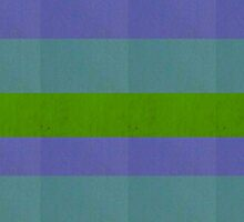 Purple Turquoise Green Grunge by TalBright