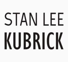 Stan Lee Kubrick by Miguel Queiruga