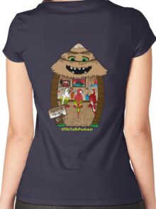 Thatch's Tiki Bar Women's Fitted Scoop T-Shirt