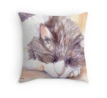 Chloe Sleeping Throw Pillow