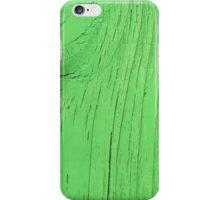 Green Wood iPhone Case/Skin
