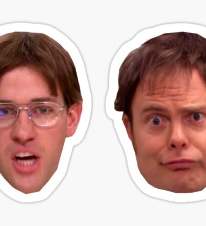 jim dwight - great as sticker pack or skirt or leggings or anything u desire Sticker