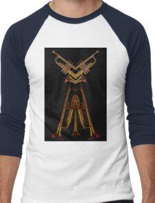 trumpet man Men's Baseball ¾ T-Shirt
