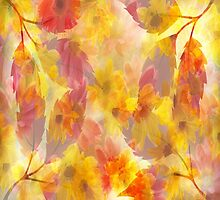 Changing Seasons Abstract by Judy Palkimas