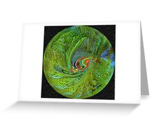 PARROT PLANET...watch the video, poor things are endanger to!! Greeting Card