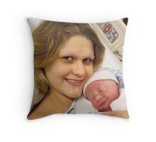 My Little Boy Throw Pillow