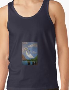 Knight and Egret  Tank Top