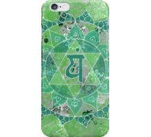 Fourth Chakra Mandala iPhone Case/Skin