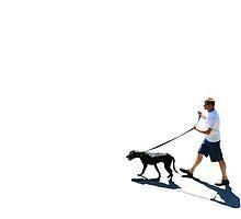 WALKING THE DOG by Diane Peresie