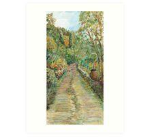 Road to Patrignone Art Print
