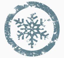 Grunge Snowflake by myfluffy