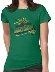 Greetings from Angel Grove! (Green Ranger) Womens Fitted T-Shirt