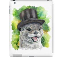 Otter in a Top Hat iPad Case/Skin