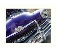 purple mercury Art Print